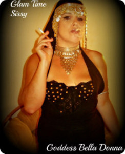 Goddess Bella Donna smoking audios